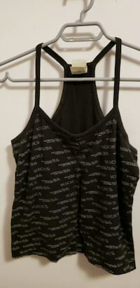 black and gray spaghetti strap top Toronto, M1J 2J1