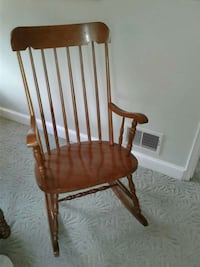 brown wooden windsor rocking chair Alexandria, 22302