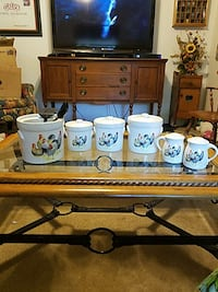 Unique rooster kitchen set. 6 pcs. Tomball, 77375