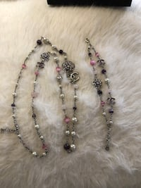 CHANEL BEAUTIFUL NECKLACE AND BRACELET