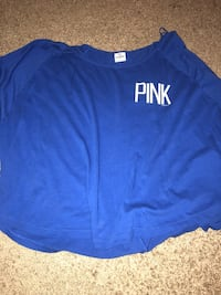 blue and white crew-neck shirt Fayetteville, 72701