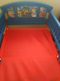 Paw Patrol Bed Frame With Brand New Mattress  Cincinnati, 45215