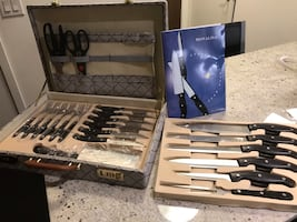Monalisa Knife 24 Piece Set - New