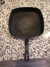 Vintage Cast Iron Square Skillet Falls Church, 22046