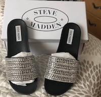 NEW Steve  Madden bling sandals 7.5 Bensenville