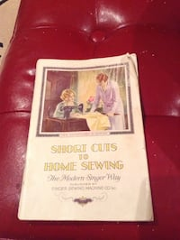 Short cuts to home sewing manual