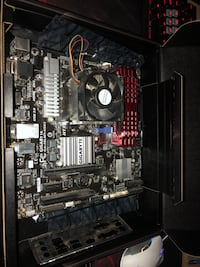Selling motherboard and cpu along with 16gb ram