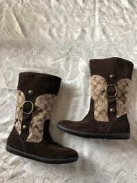 COACH Brown Boots (NEW) 547 km