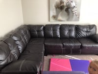 Leather couch like new  great shape Poinciana