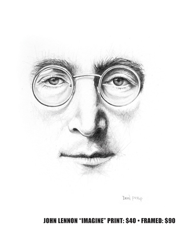 used imagine john lennon drawing for sale in beaumont