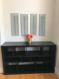 IKEA KALLAX shelf unit in black Washington, 20036