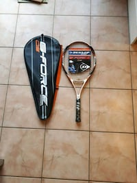 Tennis racquet and case brand new