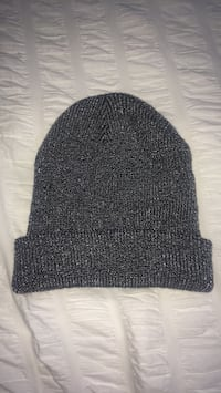 Grey and silver knit cap Calgary, T1K 0B4