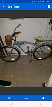 Grey and Beige Huffy delivery bike The Bronx, 10458
