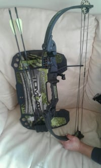 black and green compound bow Kelowna