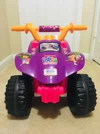 Dora the Explorer Power Wheels