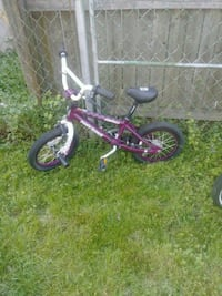 toddler's pink and white bicycle Essex, 21221