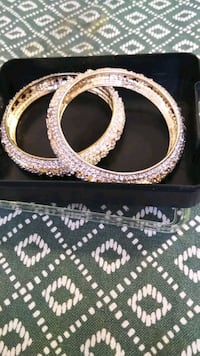 Bangles with stone size 2.5 inches new