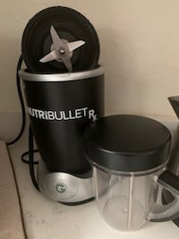 Nutribullet with all accessories for only $40 Nashville