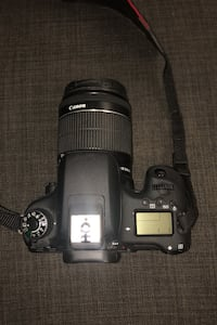 Canon EOS 760D with kit lense Burnaby, V3N 3Z2
