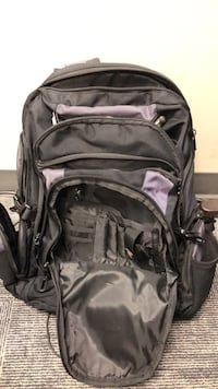 black and gray hiking backpack Sandy, 84070