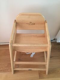 Wooden high chair - lack- kiddicare - excellent condition  Welling, DA16 1DF