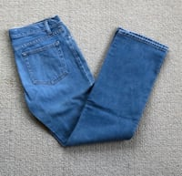 Gap Straight Leg Blue Jeans Women's Size 8