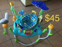 baby's blue and green jumperoo Tucson, 85706