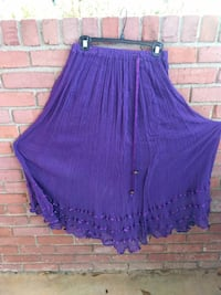 Purple skirt from Mexico Columbus, 31909