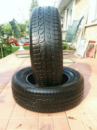 2 winter Tires size 215 70 16. Laval