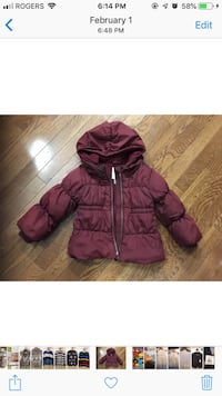 Girl's Winter Jacket 3T - $10 Pickering