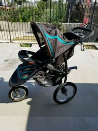 baby's black and blue jogging stroller Los Angeles, 91405