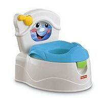 baby's white and blue Fisher-Price potty trainer Saint-Lin-Laurentides