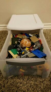 Legos with container