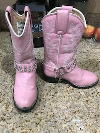 Pink boots size 8.5