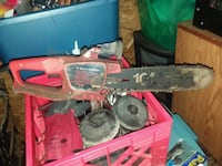 red and black gas chainsaw Minot, 58703