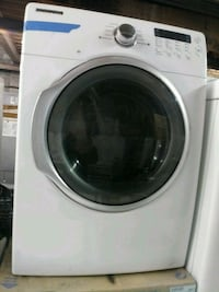 white front-load clothes washer Baltimore, 21223