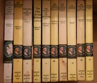 Ten (10) Nancy Drew books for $15.   Numbers are 2 Newmarket, L3Y 3J3