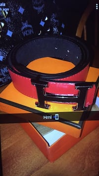 black and red leather belt Ottawa, K2C 3G1