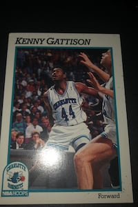 Trading card kenneth gattison 1991 #343