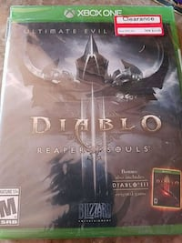 Xbox 360 Diablo Reaper of Souls game case Wantage, 07461