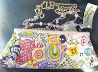 Susan collection beaded clutch purse hand bag new Woodstock, 22664