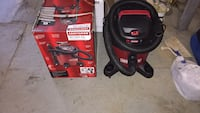 Six gallons shop vac  used one time Westminster, 21157