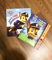 2 for $5 Paw Patrol Sound and Open Flap Book Set