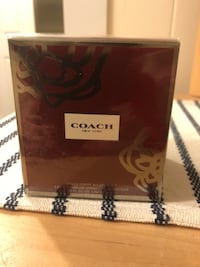 Coach poppy wildflower new still wrapped 3.4fl oz