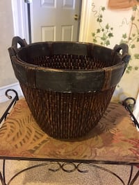 brown and black wicker basket Orem, 84057