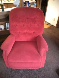 red fabric rocker recliner. Moraine, 45439