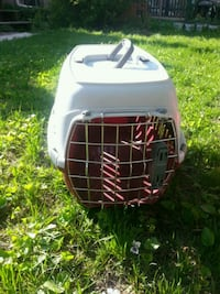 white and black pet carrier Toronto, M4T