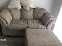 Love seat couch and ottoman  Toronto
