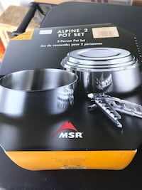 MSR cook set.  Never used.  Normally 49.99 Lorton, 22079